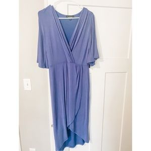 NEW Lulus Blue High Low Dress with Tags